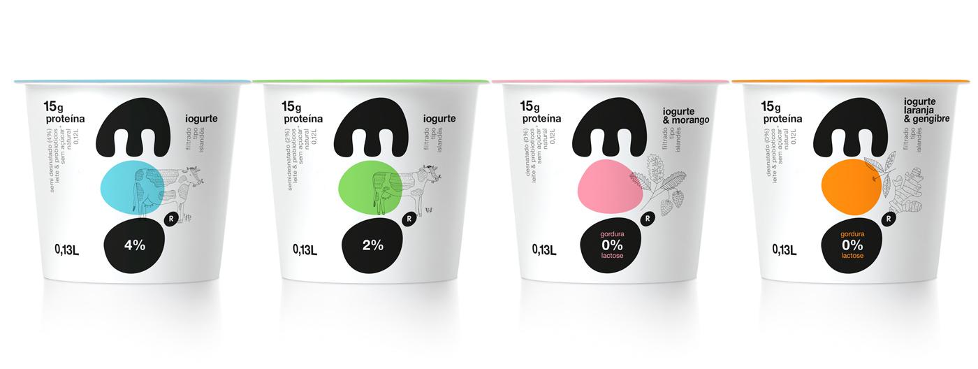 Thiết kế bao bì sản phẩm Moo Yogurt