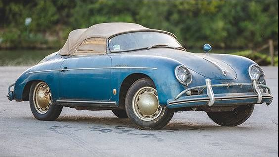 Porsche 356A Speedster 1600 modelo 1957