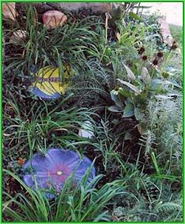 painted rocks, garden, pavestones, Cindy Thomas