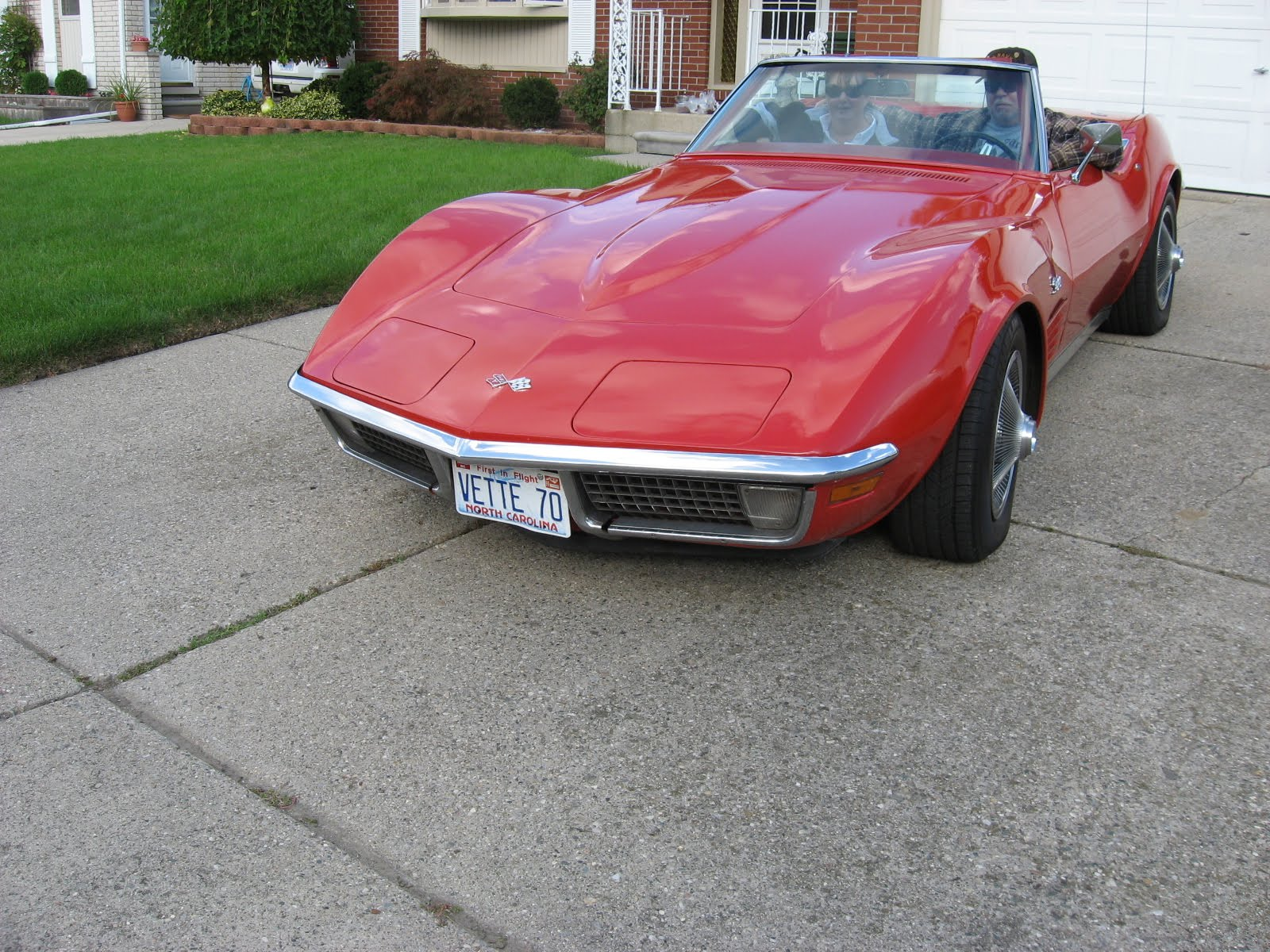 NORTH TEXAS BIKERS III: 1970 CORVETTE STINGRAY FOR SALE 10