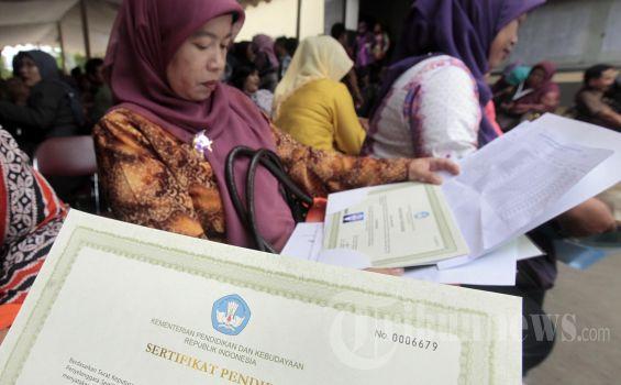 Tahun Ini Kouta Sertifikasi Guru 120 Ribu Orang