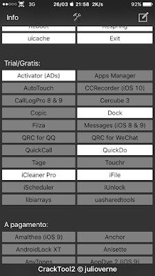 AppleMick75: par  6 5 - Elenco migliori Tweaks Cydia per iOS 10+