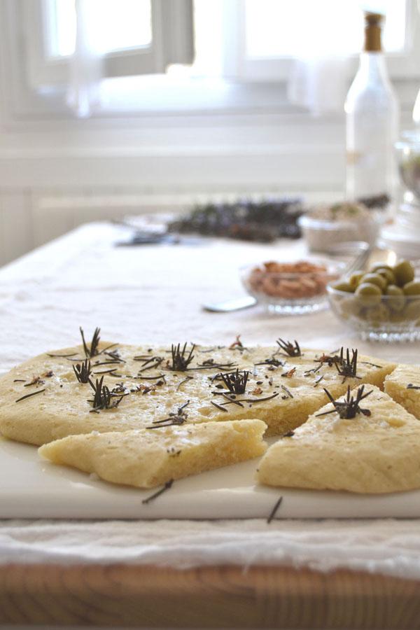 recette foccacia sans gluten