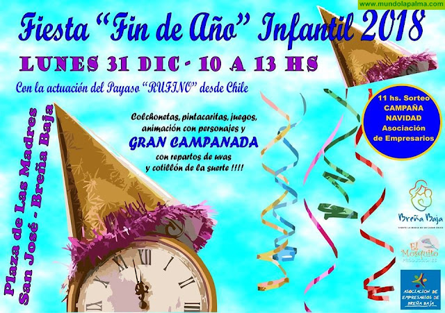 Fiesta de Fin de Año Infantil 2018 Breña Baja