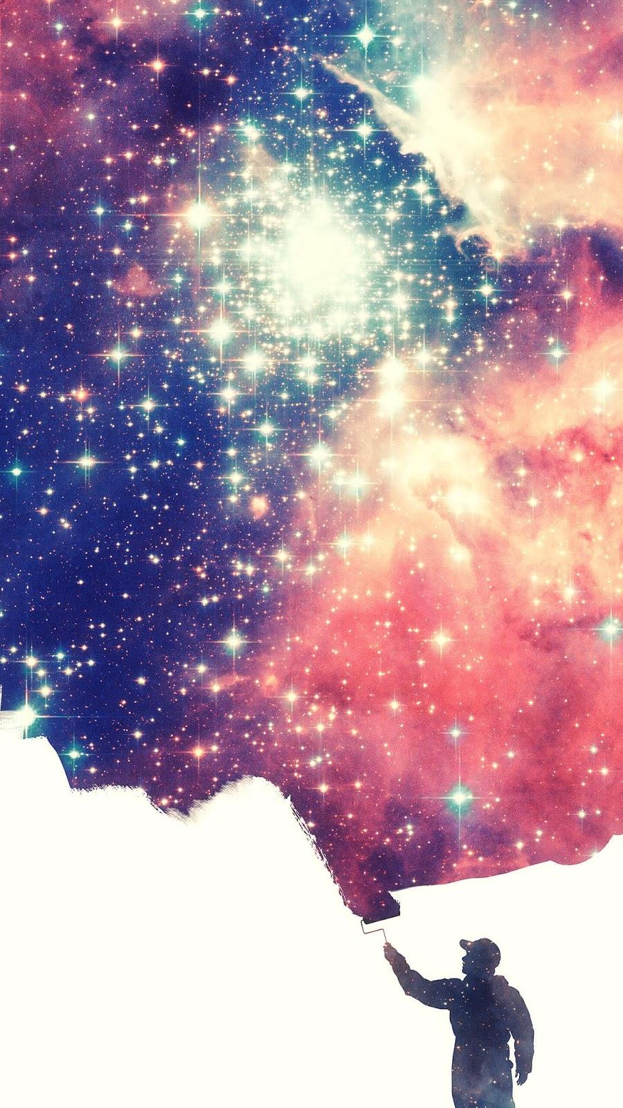 Panting the universe