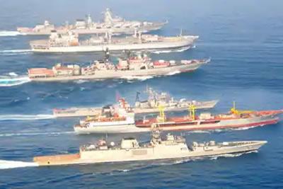 India Russia exercise
