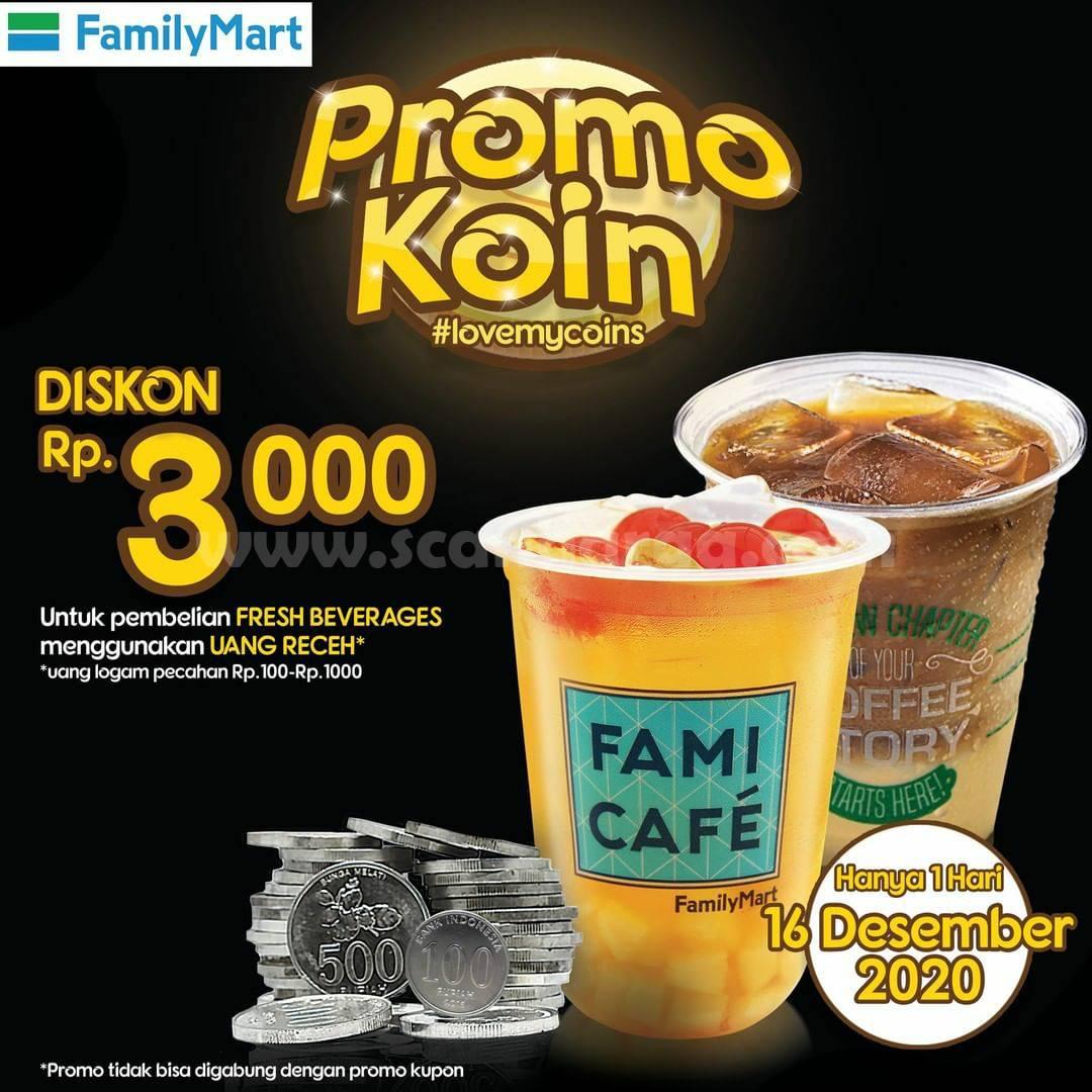 Family Mart Promo Koin Diskon Rp 3.000*