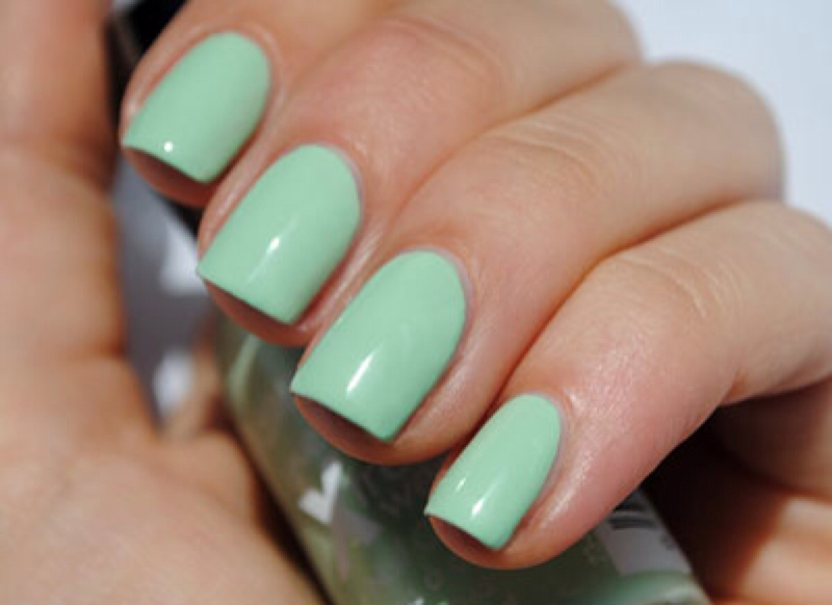 Uñas color verde menta ¡20 TENDENCIAS 2018! | Moda y Tendencias 2018 ...