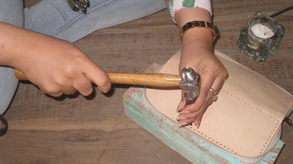 kursus membuat dompet kulit