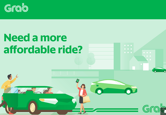 Grab reward riders with discounts RM5 off 5 rides | Promo