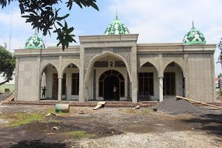 Kodim 0820 Bangun Masjid Sebagai Sarana Peningkatan Keimanan dan Ketaqwaan Prajurit