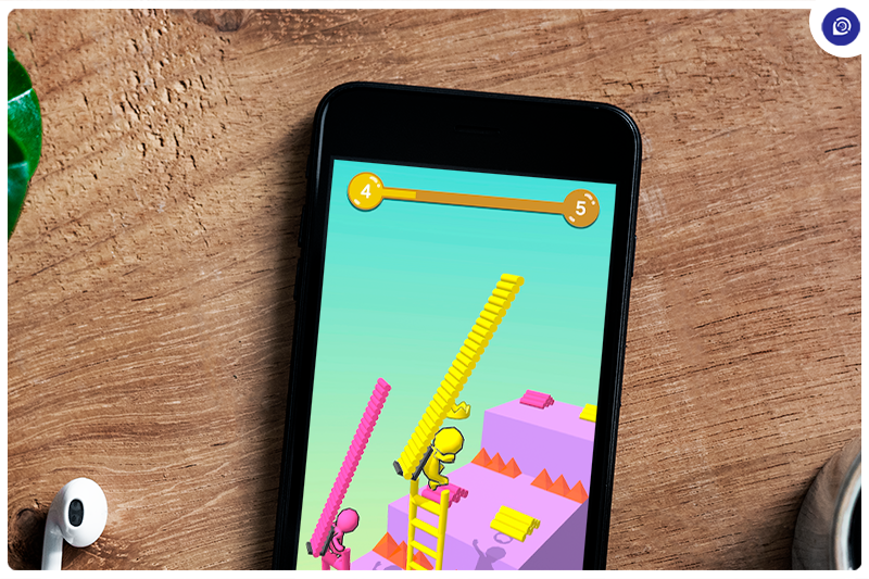 An Arcade Ladder Race for Android.