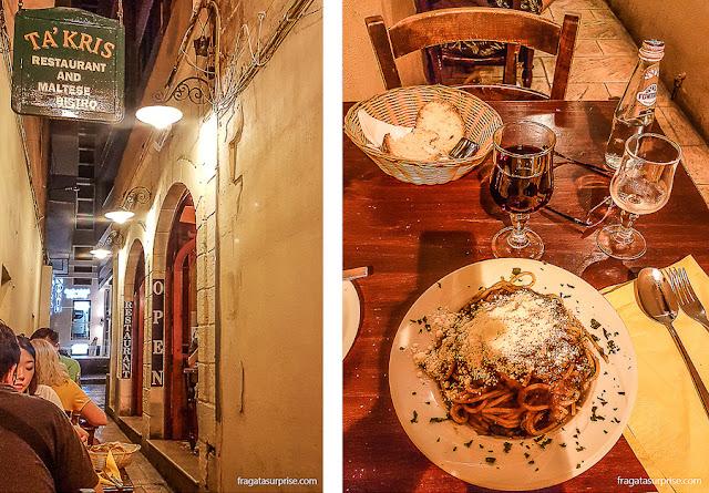 Restaurante Ta'Kris, Malta