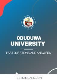 Oduduwa University Postutme