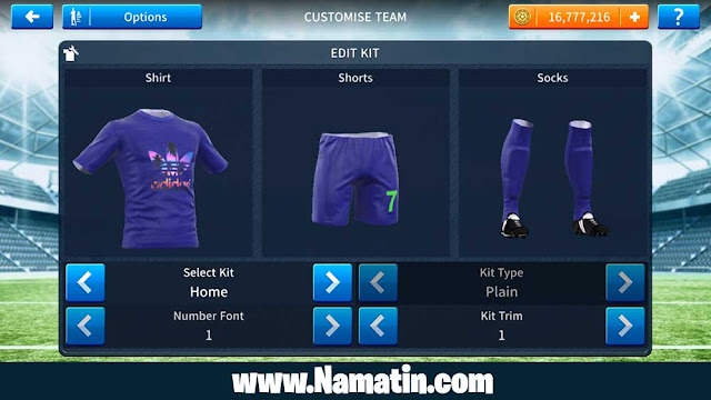 Jersey Dream League Soccer Adidas Keren