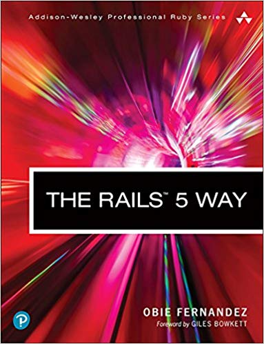 The Rails 5 Way front cover