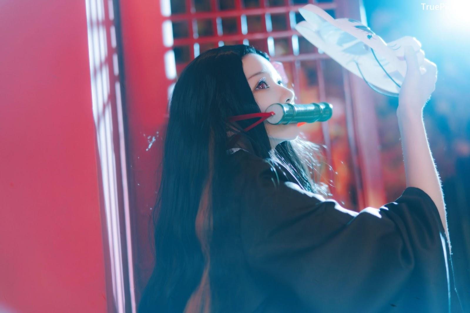 Image Japanese Model - Cherry Neko - [Cosplay] Nezuko Kamado (Kimetsu no Yaiba) - TruePic.net - Picture-8