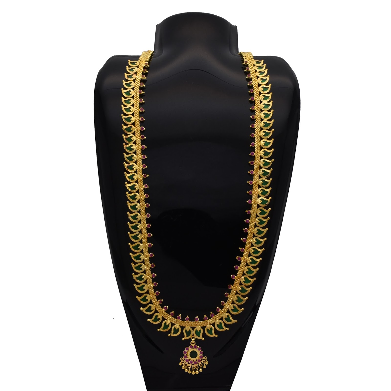 Kollam Supreme Premium Fashion Jewellery: Buy Traditional Green