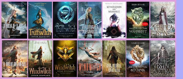 Reseña de los libros de fantasía La bruja de la verdad y El brujo del viento, de Susan Dennard