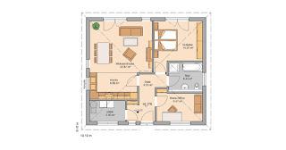Grundriss Bungalow Easy von Kern-Haus