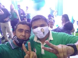 Pré-candidato a vereador Tiago da EMATER, arrasta multidão em convenção do CIDADANIA, que confirmou Nelinho Costa como precandidato a prefeito