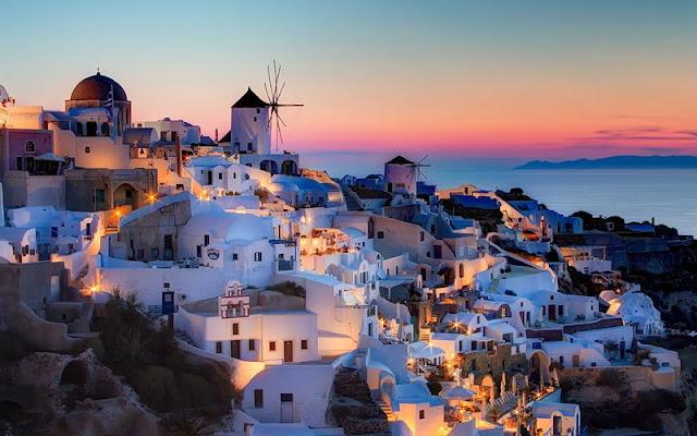 Oia, Santorini, Yunani