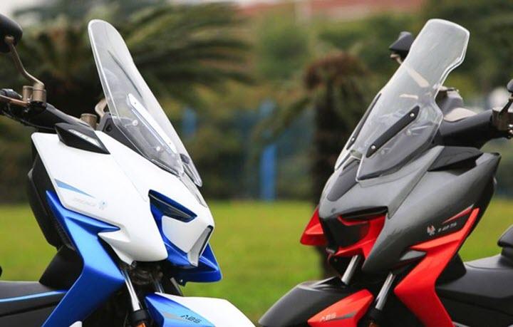 Xe ga phân khối lớn Trung Quốc lộ diện, tham vọng 'đấu' Honda Forza