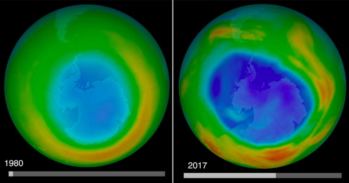 Healing Ozone Hole Confirms The Positive Outcome From The Ban Of ODS: Just Temporarily