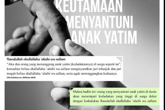 Kata Mutiara memuliakan Anak Yatim