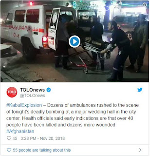 Suicide bombing at Kabul religious gathering kills dozens
