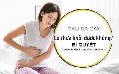 Bí quyết trị đau dạ dày không dùng thuốc tây