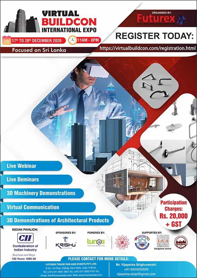 Virtual Buildcon International Expo 2020.
