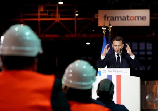 """Nucléaire : le """"oui mais"""" de Macron"""