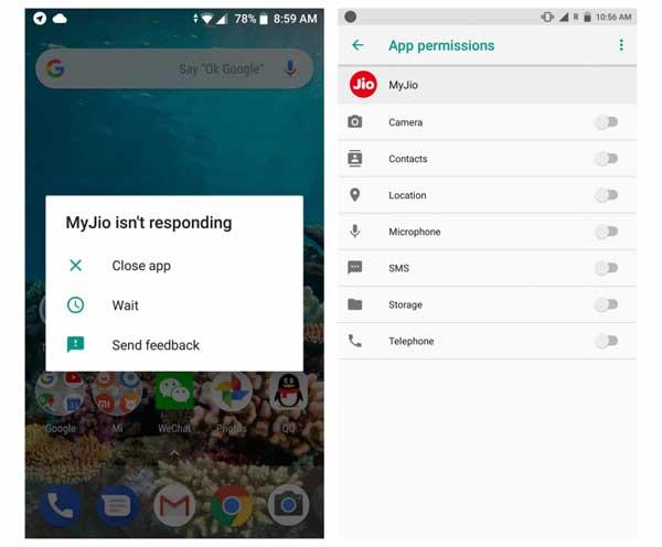 Dialer App Not Responding on Mi A1 After Oreo Update