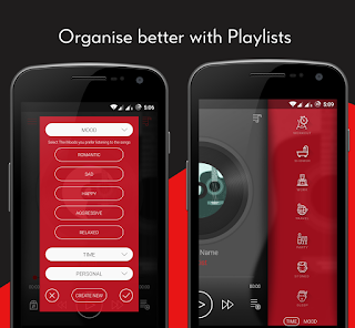 تحميل تطبيق Crimson Music Player MP3, Lyrics, Playlist 3.9.9.apk