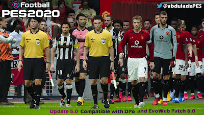 PES 2020 Legends Pack Update 5.0 by Abdulaziz [ 212 Legends | 46 Classic Boots ]