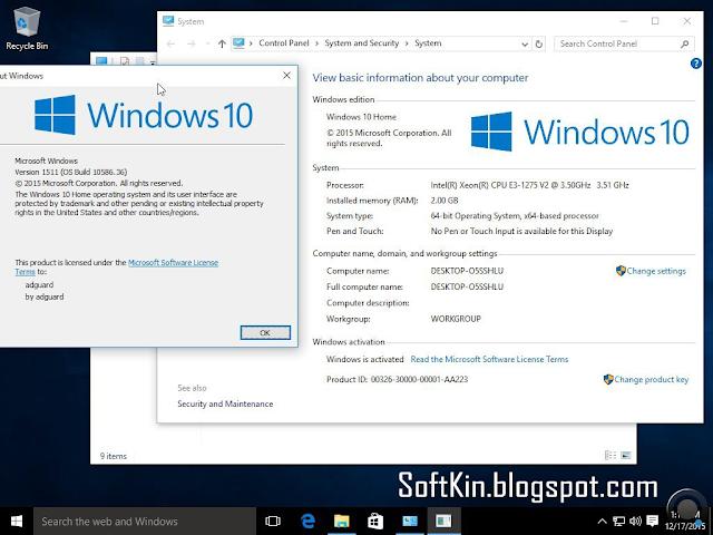 Windows 10 Pro AIO 12in1 OEM ESD en-US Aug 2015
