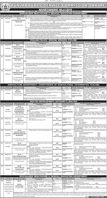 PPSC New Jobs for Information Officer, Stenographer and Other