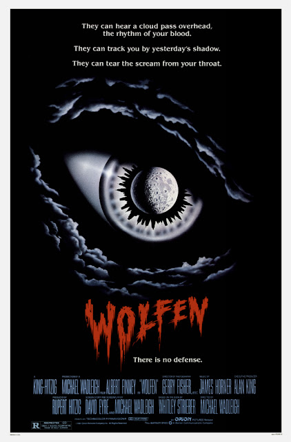Wolfen 1981 werewolf horror movie poster