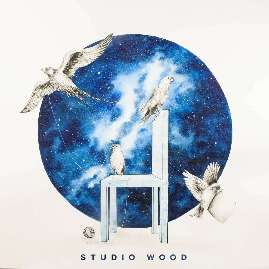 09-Collaboration-with-@Studio-Wood-Prakersh-Blue-and-Round-Fantasy-Watercolor-Paintings-www-designstack-co