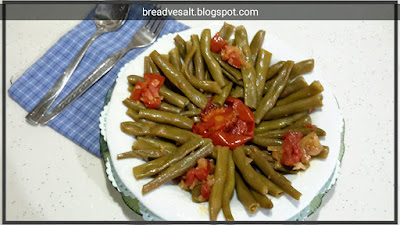 Green beans in olive oil turkish