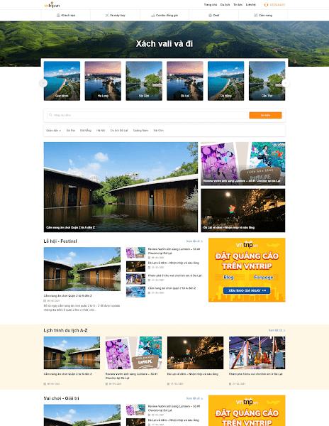 Template blogger tin tức du lịch - bán phòng khách sạn và bán tour - Blogspotdep.com