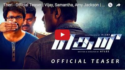 Theri | Vijay, Samantha, Amy Jackson | G.V. Prakash Kumar | Atlee