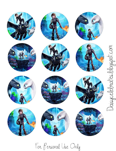 How to Train your Dragon Party Free Printable Mini Kit.