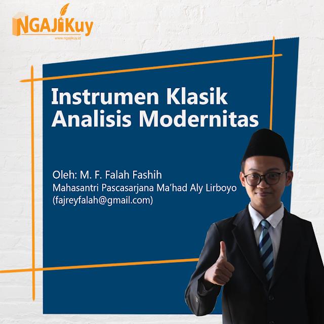 Instrumen Klasik Analisis Modernitas