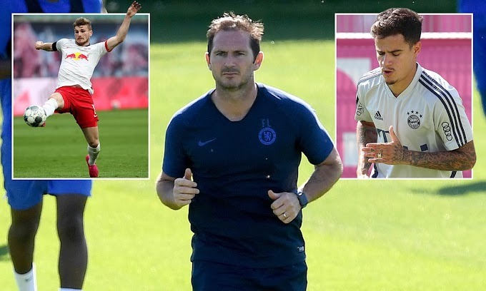 Chelsea est prêt pour une reconstruction estivale avec Frank Lampard déterminé à de nouvelles signatures