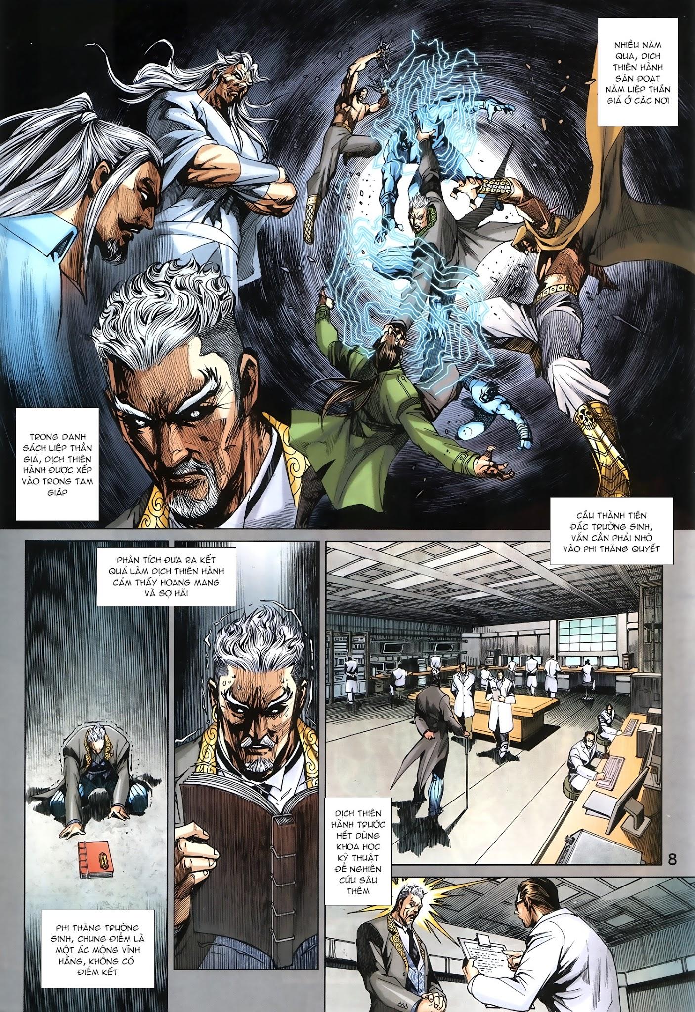 Tân Tác Long Hổ Môn chap 879.1 - Trang 8