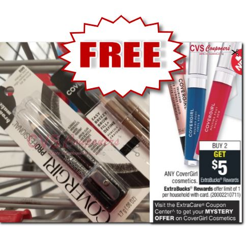 FREE Covergirl Easy Breezy Brow Pencils at CVS 5-26-6-1