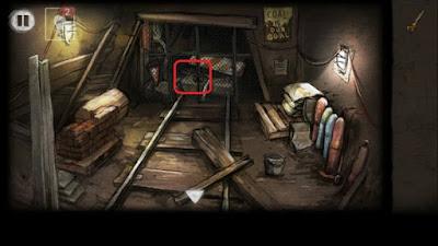 гаечным ключом откручиваем гайки и открываем двери в игре выход из заброшенной шахты