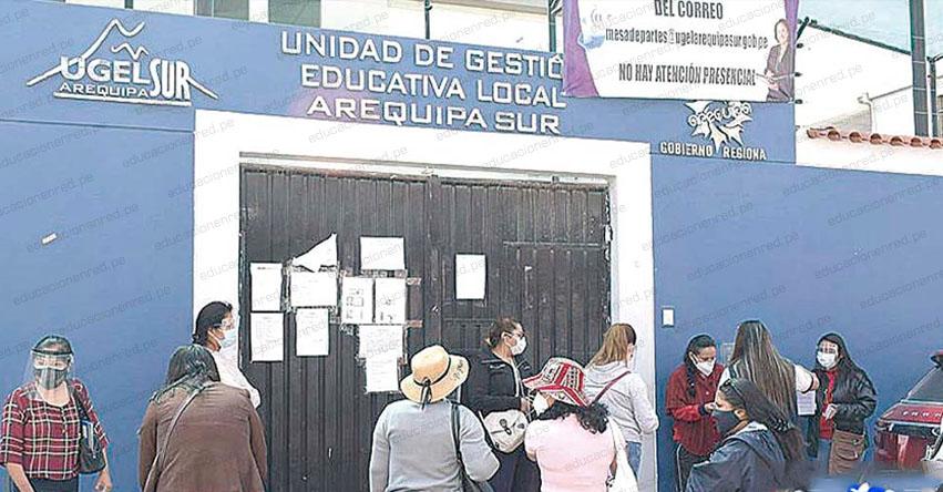 Contraloría observa compra de mascarillas de la UGEL Arequipa Sur